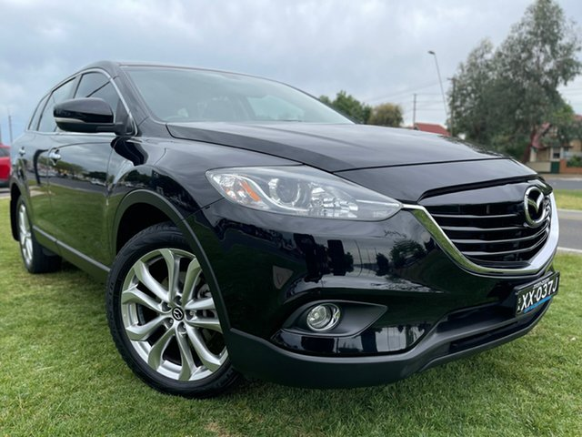 Used Mazda CX-9 TB10A5 Luxury Activematic Hindmarsh, 2012 Mazda CX-9 TB10A5 Luxury Activematic Brilliant Black 6 Speed Sports Automatic Wagon