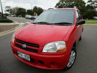 2003 Suzuki Ignis GL Red 4 Speed Automatic Hatchback