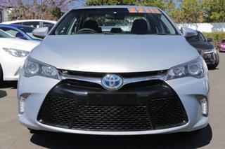 2015 Toyota Camry AVV50R Atara S Blue 1 Speed Constant Variable Sedan Hybrid.