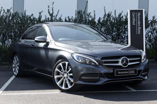 Certified Pre-Owned Mercedes-Benz C-Class W205 C250 7G-Tronic + Mulgrave, 2014 Mercedes-Benz C-Class W205 C250 7G-Tronic + Tenorite Grey 7 Speed Sports Automatic Sedan