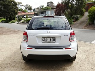 2012 Suzuki SX4 GYA MY11 S White 6 Speed Constant Variable Hatchback