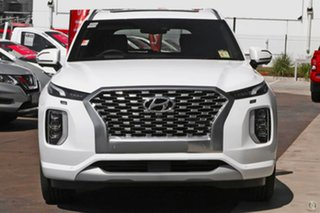 2021 Hyundai Palisade LX2.V2 MY22 Highlander AWD White 8 Speed Sports Automatic Wagon.
