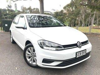 2018 Volkswagen Golf 7.5 MY18 110TSI DSG Trendline White 7 Speed Sports Automatic Dual Clutch.