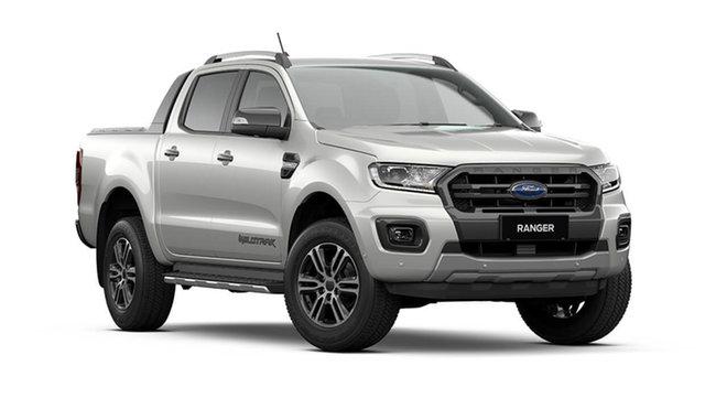 New Ford Ranger PX MkIII 2021.75MY Wildtrak Cardiff, 2021 Ford Ranger PX MkIII 2021.75MY Wildtrak Alabaster White 10 Speed Sports Automatic