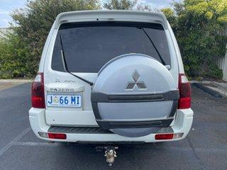 2006 Mitsubishi Pajero NP MY06 VR-X White 5 Speed Sports Automatic Wagon