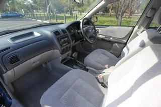 2002 Ford Laser KQ LXI Blue 4 Speed Automatic Hatchback