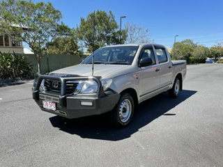 2012 Toyota Hilux GGN15R SR Gold 5 Speed Manual Dual Cab