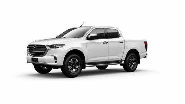 New Mazda BT-50 TFS40J XTR Toowoomba, 2021 Mazda BT-50 TFS40J XTR Ice White 6 Speed Sports Automatic Utility