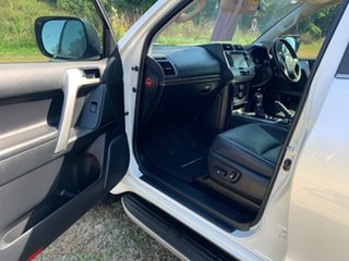 2017 Toyota Landcruiser Prado GDJ150R MY17 Kakadu (4x4) Crystal Pearl 6 Speed Automatic Wagon