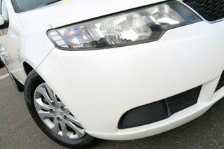 2012 Kia Cerato TD MY13 SI White 6 Speed Sports Automatic Sedan.