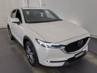 2018 Mazda CX-5 KF4W2A Akera SKYACTIV-Drive i-ACTIV AWD White 6 Speed Sports Automatic Wagon.