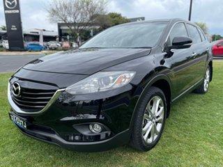 2012 Mazda CX-9 TB10A5 Luxury Activematic Brilliant Black 6 Speed Sports Automatic Wagon.