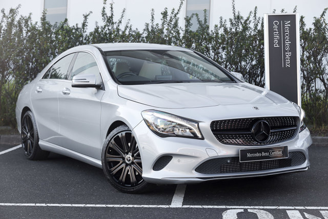Certified Pre-Owned Mercedes-Benz CLA-Class C117 808MY CLA200 DCT Mulgrave, 2017 Mercedes-Benz CLA-Class C117 808MY CLA200 DCT Polar White 7 Speed Sports Automatic Dual Clutch