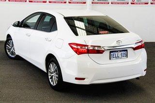 2014 Toyota Corolla ZRE172R SX Glacier White 7 Speed CVT Auto Sequential Sedan