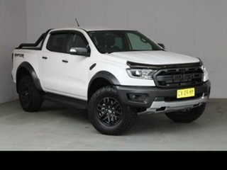 2020 Ford Ranger White 10 SP AUTOMATIC Dual Cab Pick-up