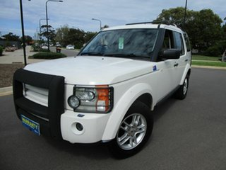 2008 Land Rover Discovery 3 MY08 SE White 6 Speed Automatic Wagon