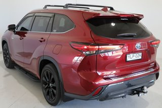 2021 Toyota Kluger Axuh78R Grande eFour Red 6 Speed Constant Variable Wagon Hybrid.