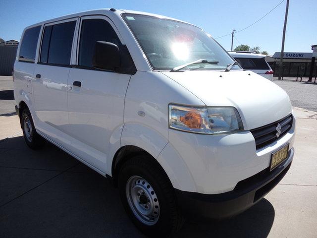 Used Suzuki APV GD MY06 Upgrade Wagga Wagga, 2013 Suzuki APV GD MY06 Upgrade Abalone White 5 Speed Manual Van