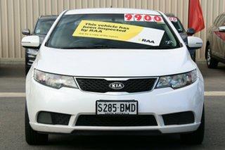 2012 Kia Cerato TD MY13 SI White 6 Speed Sports Automatic Sedan