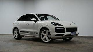 2020 Porsche Cayenne 9YA MY20 Tiptronic White 8 Speed Sports Automatic Wagon.