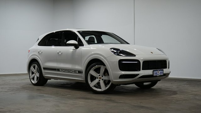 Used Porsche Cayenne 9YA MY20 Tiptronic Welshpool, 2020 Porsche Cayenne 9YA MY20 Tiptronic White 8 Speed Sports Automatic Wagon