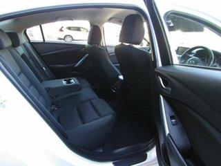 2015 Mazda 6 GJ1032 Sport SKYACTIV-Drive Pearl White 6 Speed Sports Automatic Sedan
