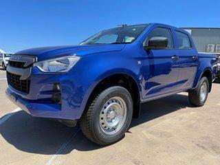 2021 Isuzu D-MAX RG MY21 SX Crew Cab Cobalt Blue 6 Speed Sports Automatic Utility