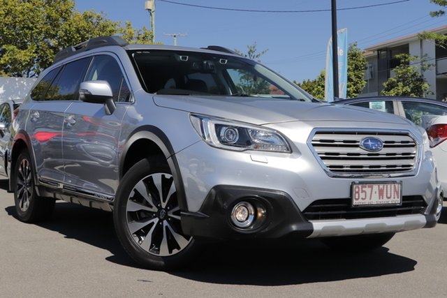 Used Subaru Outback B6A MY16 3.6R CVT AWD Mount Gravatt, 2016 Subaru Outback B6A MY16 3.6R CVT AWD Silver 6 Speed Constant Variable Wagon