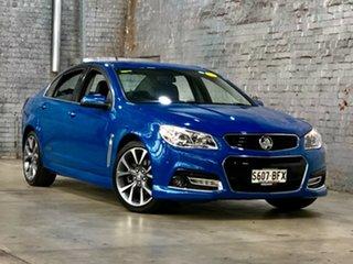 2014 Holden Commodore VF MY14 SS V Blue 6 Speed Sports Automatic Sedan.