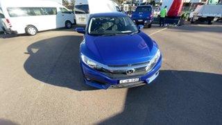2017 Honda Civic 10th Gen MY16 VTi-S Blue 1 Speed Constant Variable Sedan