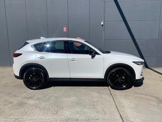 2021 Mazda CX-5 KF4WLA GT SKYACTIV-Drive i-ACTIV AWD SP Snowflake White 6 Speed Sports Automatic.