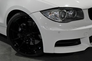 2009 BMW 1 Series E82 135i Sport White 6 Speed Manual Coupe.