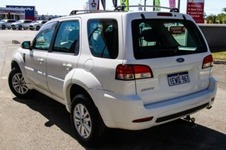 2010 Ford Escape ZD MY10 White 4 Speed Automatic SUV.