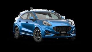 2021 Ford Puma JK ST-Line Desert Island Blue 7 Speed Automatic
