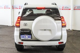 2020 Toyota Landcruiser Prado GDJ150R Kakadu Crystal Pearl 6 Speed Sports Automatic Wagon.