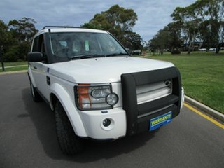 2008 Land Rover Discovery 3 MY08 SE White 6 Speed Automatic Wagon.