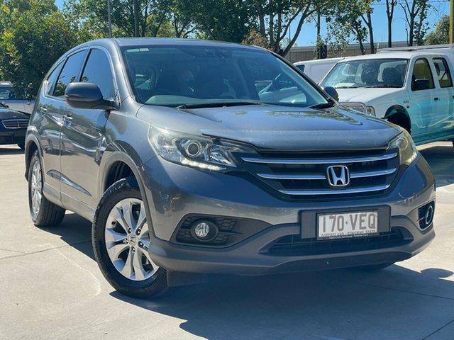 Used Honda CR-V RM MY14 DTi-L 4WD Toowoomba, 2014 Honda CR-V RM MY14 DTi-L 4WD Grey 5 Speed Sports Automatic Wagon
