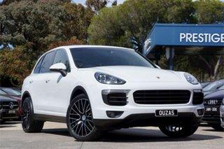 2016 Porsche Cayenne 92A MY16 Diesel Tiptronic White 8 Speed Sports Automatic Wagon.