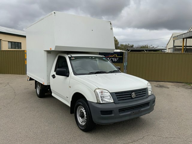 Used Holden Rodeo RA DX Hampstead Gardens, 2005 Holden Rodeo RA DX White 5 Speed Manual Cab Chassis