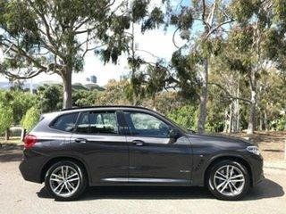 2017 BMW X3 G01 xDrive30i Steptronic Grey 8 Speed Automatic Wagon.