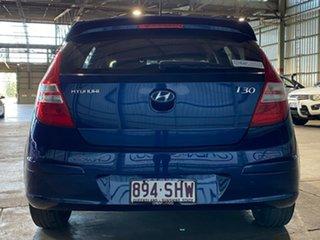 2011 Hyundai i30 FD MY11 SLX Blue 4 Speed Automatic Hatchback