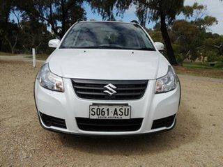 2012 Suzuki SX4 GYA MY11 S White 6 Speed Constant Variable Hatchback.