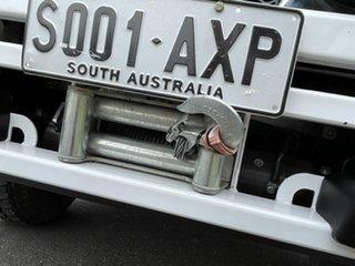 2012 Nissan Patrol GU 6 Series II DX White 5 Speed Manual Cab Chassis