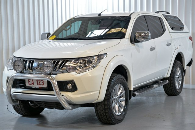 Used Mitsubishi Triton MQ MY16 Exceed Double Cab Hendra, 2015 Mitsubishi Triton MQ MY16 Exceed Double Cab White 5 Speed Sports Automatic Utility