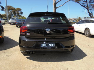 2020 Volkswagen Polo AW MY20 GTI DSG Black 6 Speed Sports Automatic Dual Clutch Hatchback.