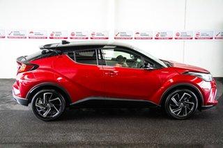 2020 Toyota C-HR NGX50R Koba S-CVT AWD Feverish Red & Black Roof 7 Speed Constant Variable Wagon