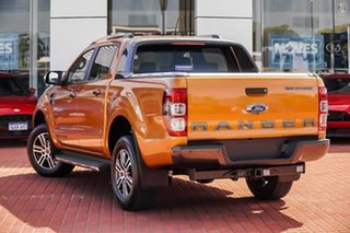 2021 Ford Ranger PX MkIII 2021.75MY Wildtrak Orange 10 Speed Sports Automatic Double Cab Pick Up