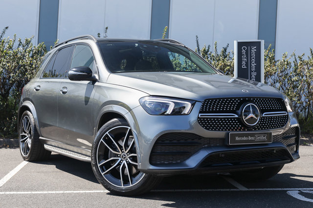Certified Pre-Owned Mercedes-Benz GLE-Class V167 GLE300 d 9G-Tronic 4MATIC Mulgrave, 2019 Mercedes-Benz GLE-Class V167 GLE300 d 9G-Tronic 4MATIC Selenite Grey 9 Speed Sports Automatic