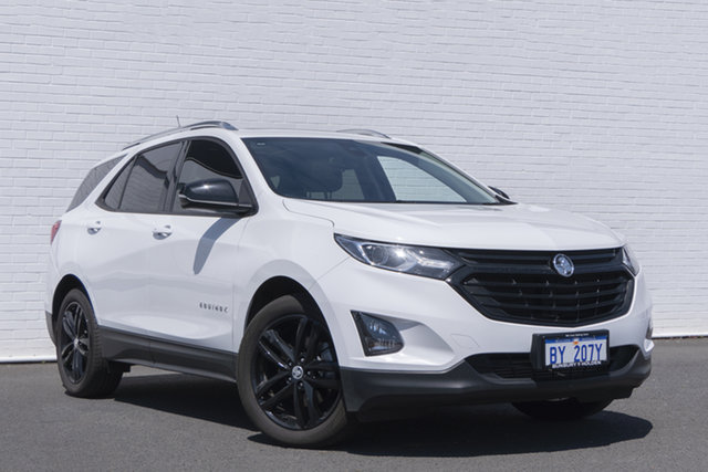 Used Holden Equinox EQ MY20 Black Edition FWD Bunbury, 2020 Holden Equinox EQ MY20 Black Edition FWD White 6 Speed Sports Automatic Wagon
