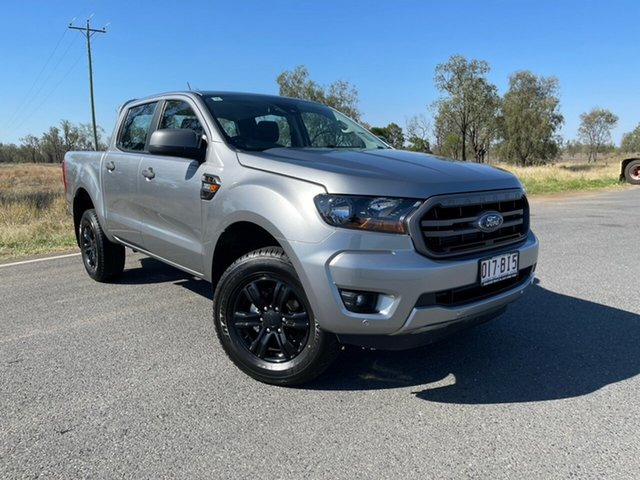 Used Ford Ranger PX MkIII 2021.25MY XLS Emerald, 2021 Ford Ranger PX MkIII 2021.25MY XLS Aluminium 6 Speed Sports Automatic Double Cab Pick Up
